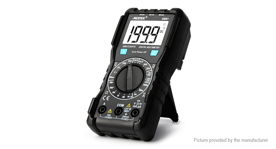 MESTEK DM91 High Precision True RMS Digital Multimeter