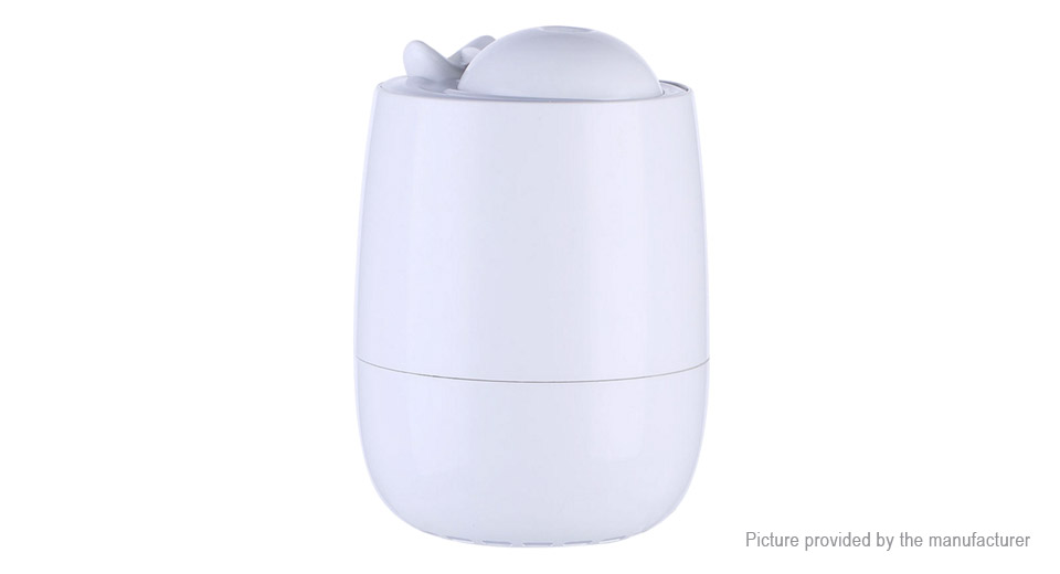 3-in-1 Ultrasonic Humidifier Aroma Diffuser Air Purifier LED Light Mini Fan