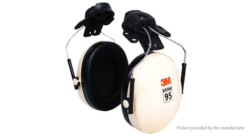 3M H6P3E Hearing Conservation Protector Anti-noise Earmuff (Pair)