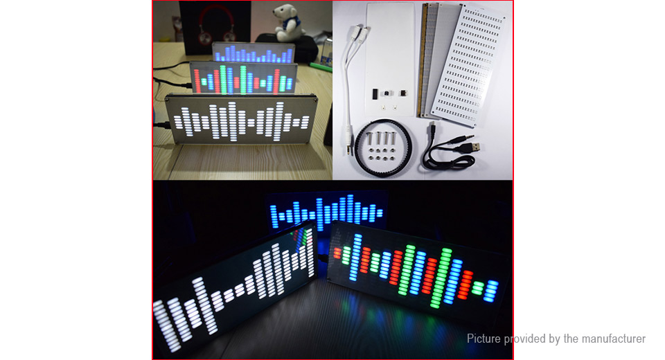 Product Image: diy-big-size-touch-control-led-digital-equalizer
