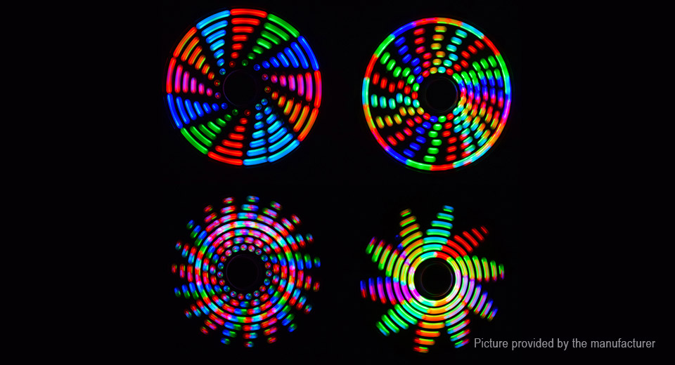 DIY RGB Full Color Rotating POV LED Hand Spinner Electronic Kit