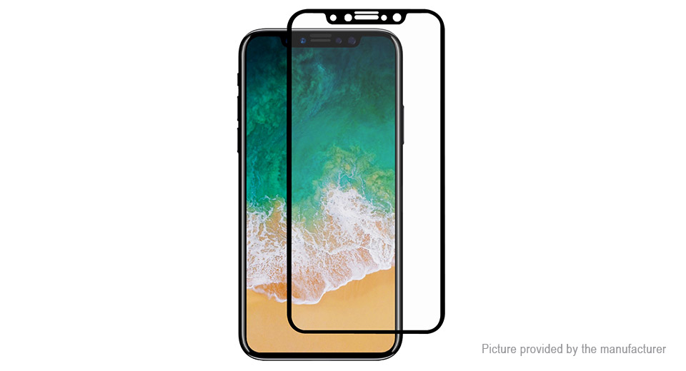 Hat.Prince 2.5D Tempered Glass Screen Protector for iPhone X