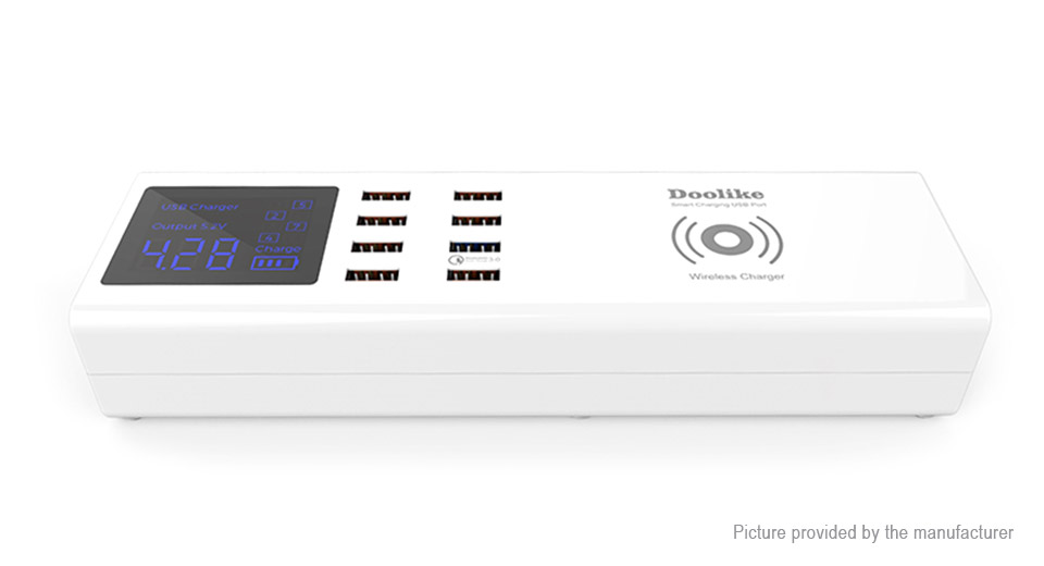 Product Image: doolike-ch27wq-8-port-smart-usb-charger-power