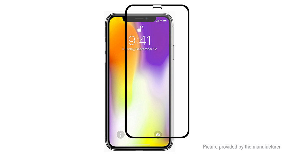 Hat.Prince 2.5D Tempered Glass Screen Protector for iPhone XS Max