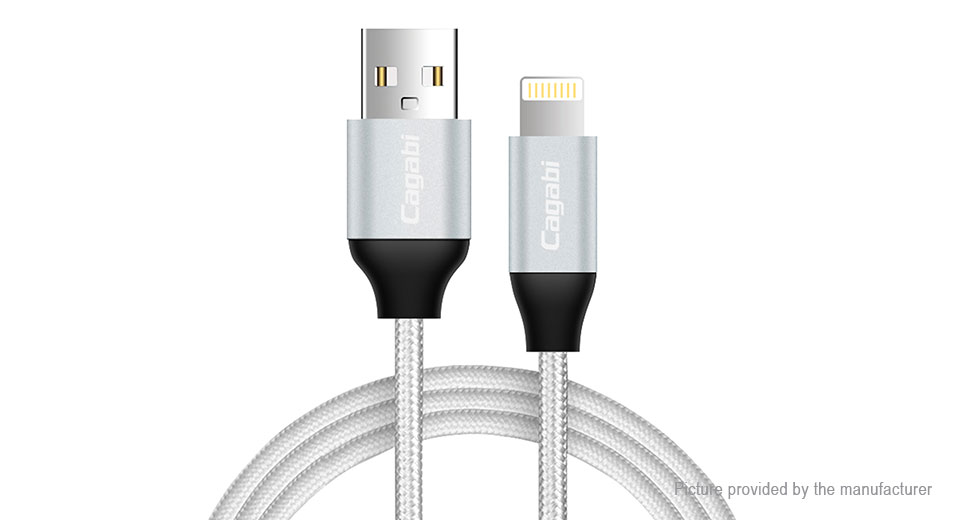 Product Image: cagabi-n3-8-pin-to-usb-2-0-nylon-braided-data