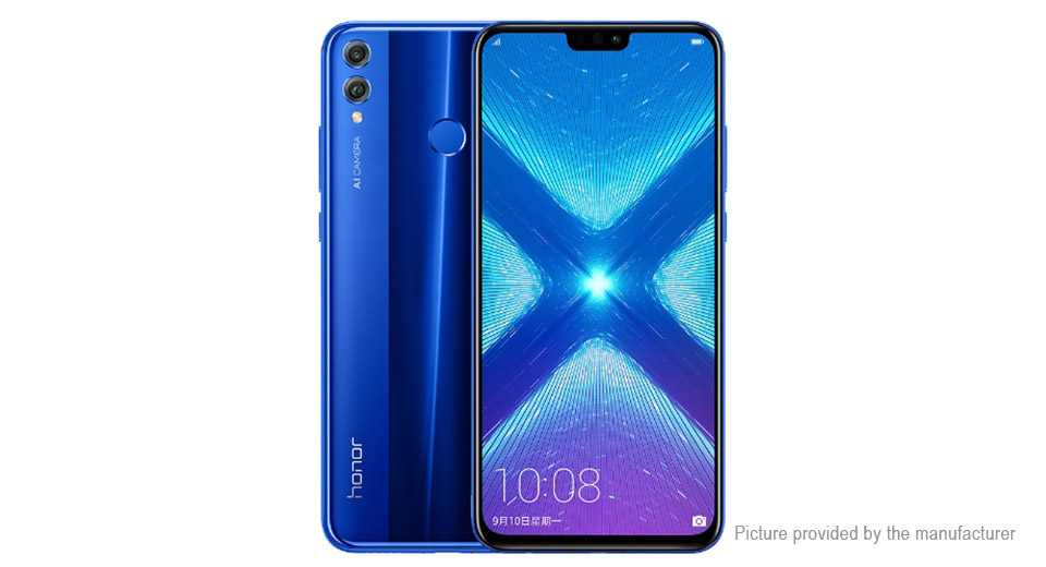 Authentic Huawei Honor 8X 6.5 IPS Octa-Core LTE Smartphone (64GB/EU)