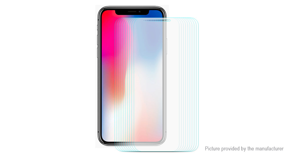 ENKAY 2.5D Tempered Glass Screen Protector for iPhone XS (10-Pack)