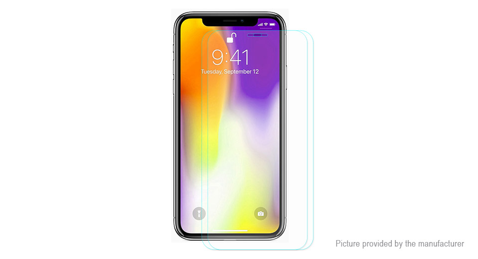 Hat.Prince 2.5D Tempered Glass Screen Protector for iPhone XS Max (2-Pack)