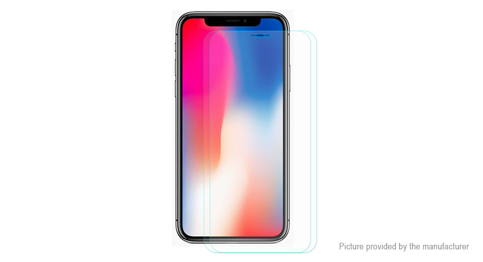 Hat.Prince 2.5D Tempered Glass Screen Protector for iPhone XS (2-Pack)