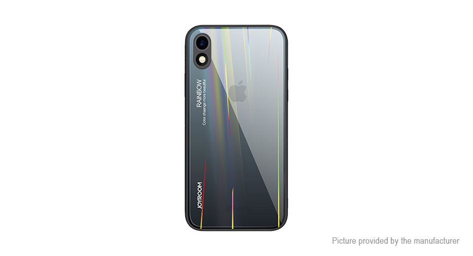Product Image: joyroom-tpu-pc-tempered-glass-rainbow-back-case