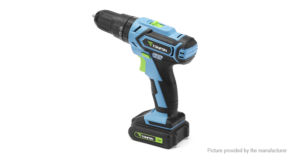 Authentic Xiaomi Tonfon 3-in-1 Cordless Electric Screwdriver Power Driver Impact Drill
