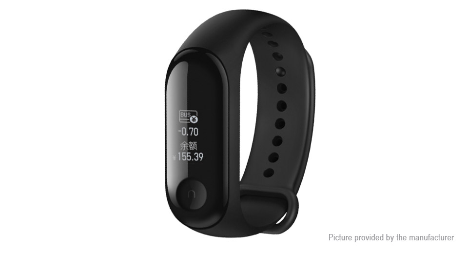 Authentic Xiaomi Mi Band 3 0.78'' OLED Touch Screen Smart Bracelet Wristband