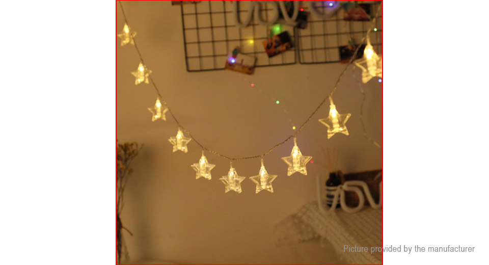 Star Styled Dimmable LED String Light Christmas Wedding Decor