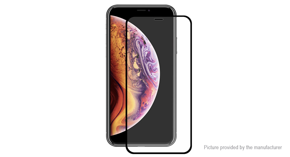 Hat.Prince 2.5D Tempered Glass Screen Protector for iPhone XS/X
