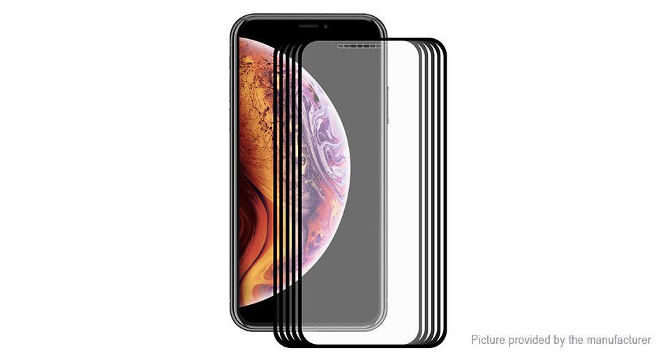 Hat.Prince 2.5D Tempered Glass Screen Protector for iPhone XS/X (5-Pack)