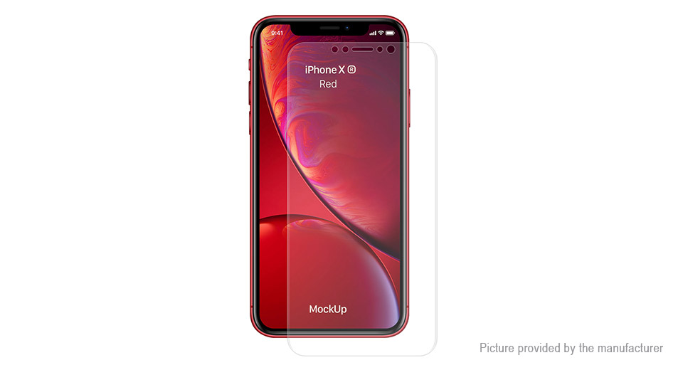 Hat.Prince 3D PET Full Screen Protector for iPhone XR