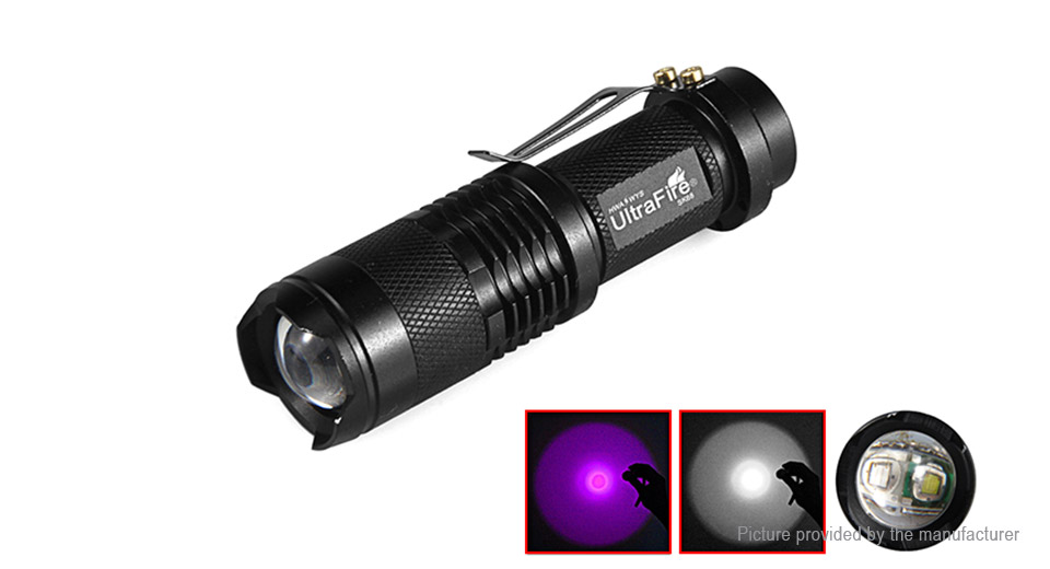 Product Image: authentic-ultrafire-sk68-uv-led-flashlight-w
