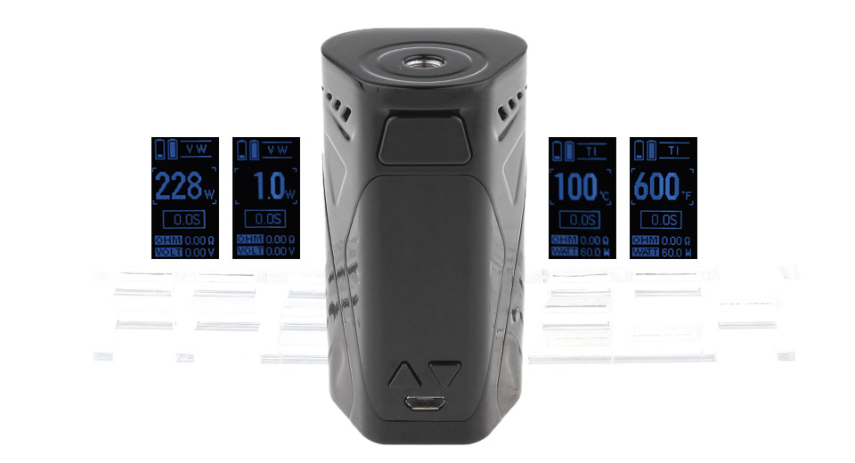 Product Image: authentic-rincoe-manto-x-228w-tc-vw-apv-box-mod