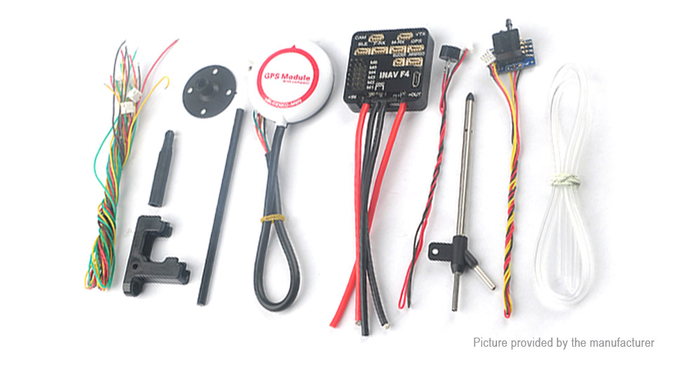 w/ integrated OSD buzzer/GPS/airspeed #drone
