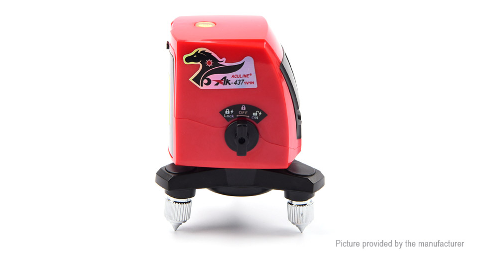 Product Image: aculine-ak437-portable-self-leveling-cross-laser