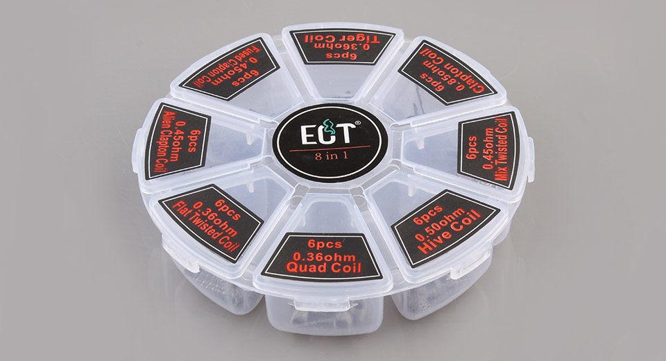 Product Image: authentic-ect-kanthal-a1-8-in-1-pre-coiled-wire-8