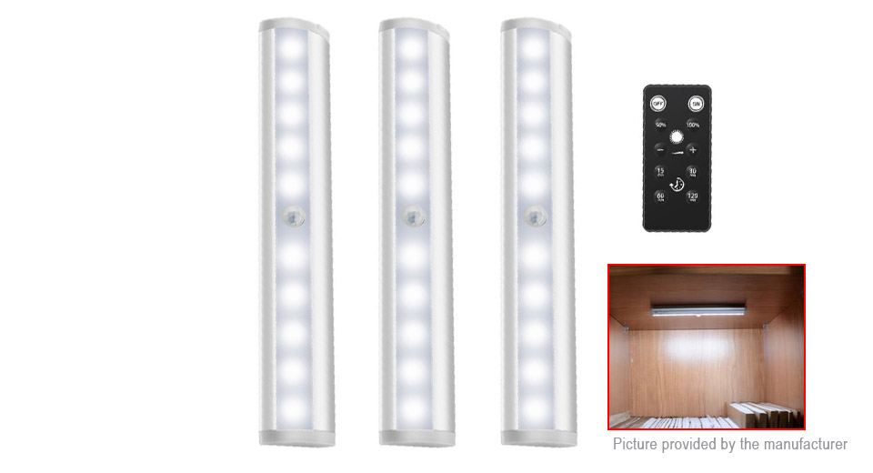 Remote Control LED Under Cabinet Closet Light