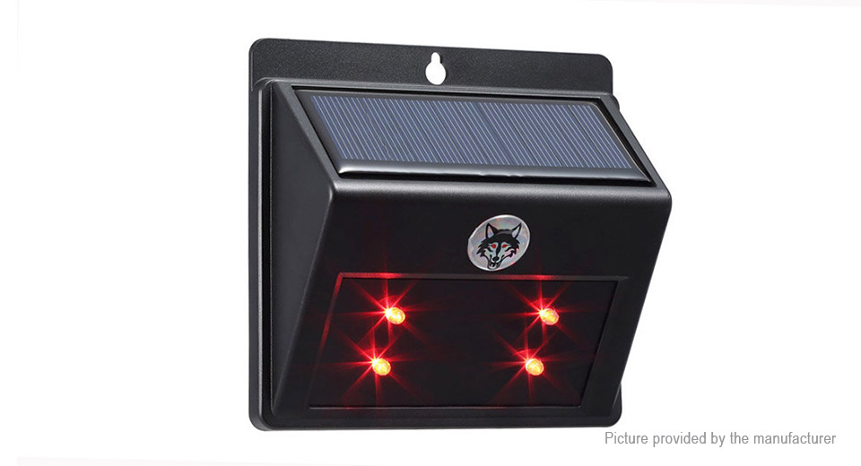 Product Image: solar-powered-animal-repeller-garden-led-predator