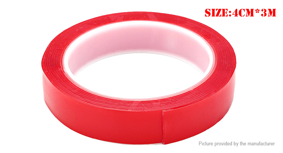 Double-sided Adhesive Tape Acrylic Gel Transparent Glue Sticker (40mm*3m)