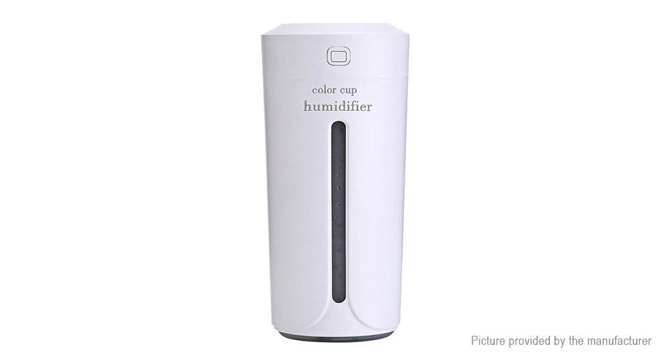 Color Cup Ultrasonic Essential Oil Aroma Diffuser Humidifier Air Purifier