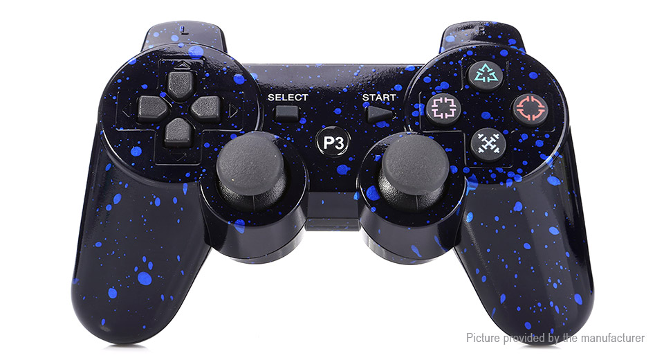 Snowflake Print Bluetooth V4.0 Game Controller / Gamepad for PS3