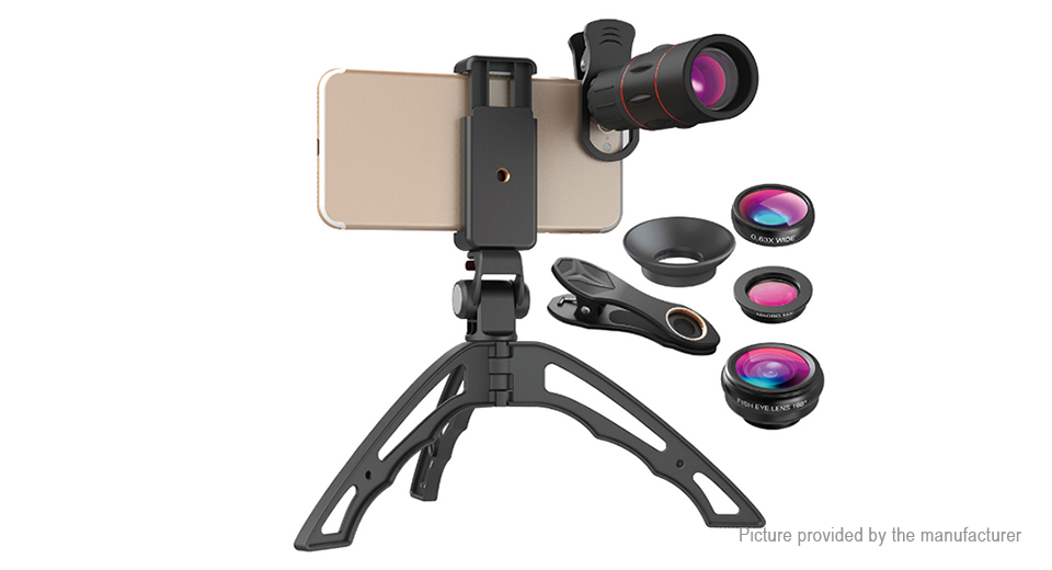 Product Image: apexel-apl-t18b3jj04-4-in-1-clip-on-camera-lens