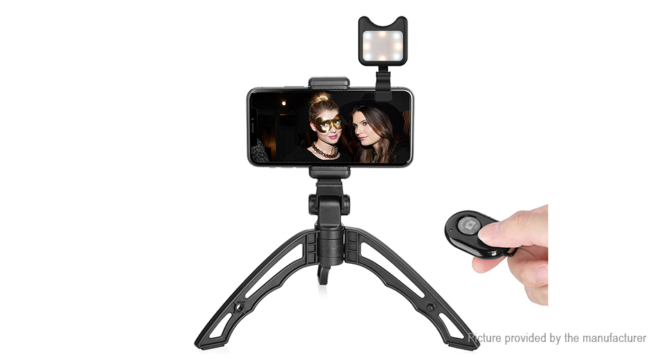 Product Image: apexel-portable-bluetooth-v3-0-selfie-tripod