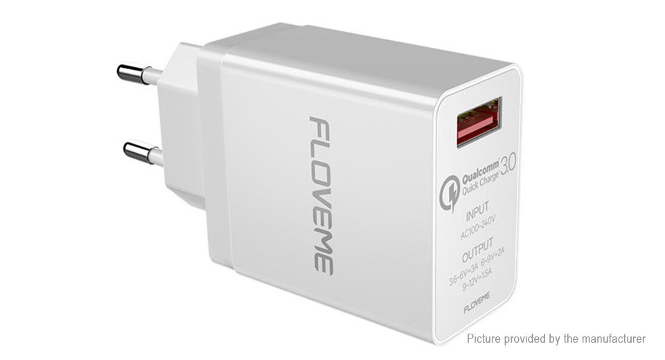 Authentic Floveme USB Travel Wall Charger Power Adapter (EU)
