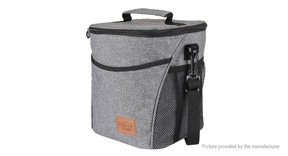 Kinnet Portable Cooler Insulated Lunch Bag Thermal Picnic Bag