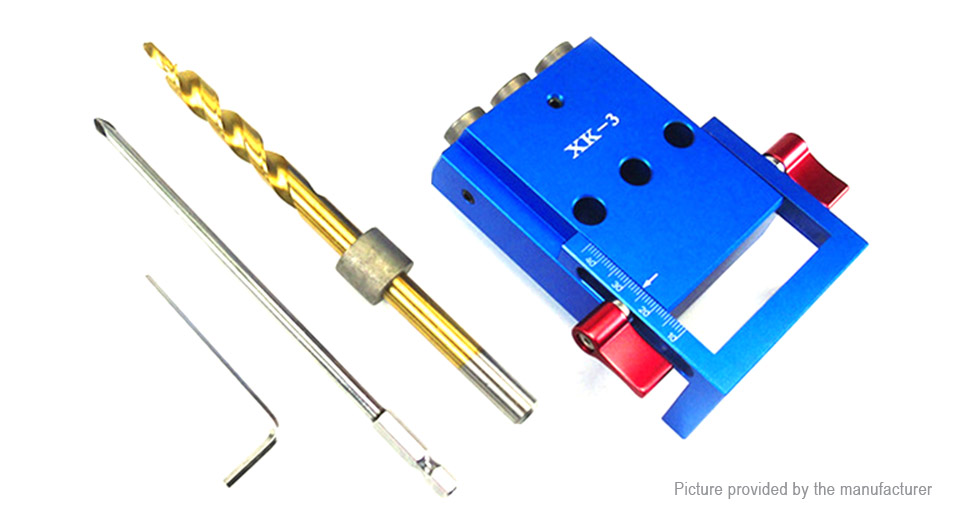 Pocket Hole Jig Woodworking Inclined Locator Oblique Hole Puncher Drill Positioning Tool