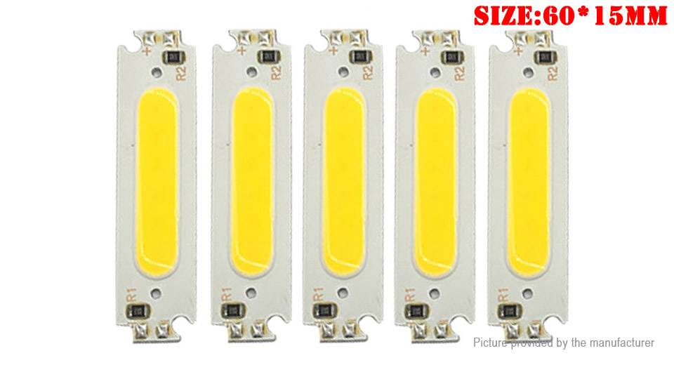 Product Image: 2w-cob-led-car-diy-light-bead-lamp-chip-5-pack