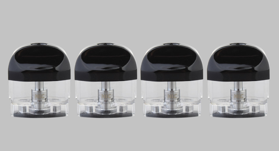 Authentic Yocan Evolve 2.0 Replacement E-juice Pod Cartridge (4-Pack)