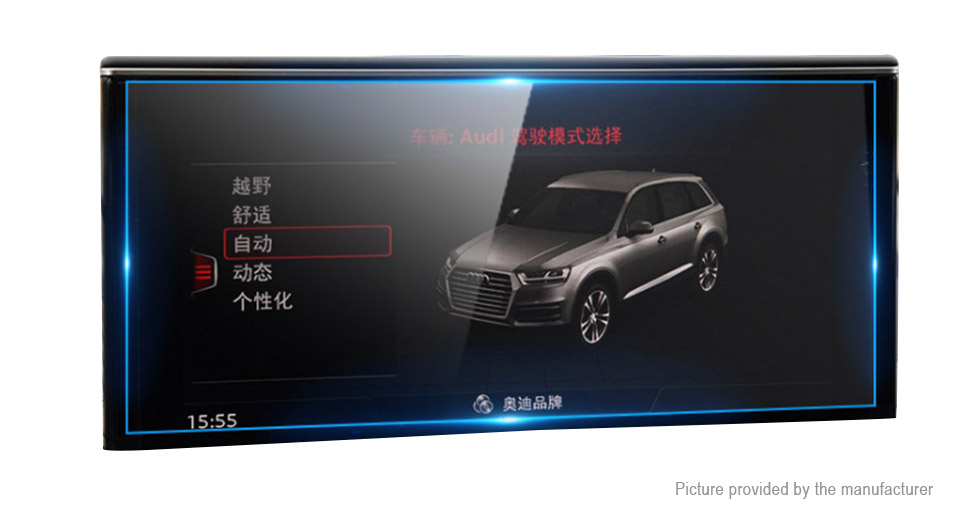 Car Center Control Touch Screen Tempered Glass Screen Protector for Audi Q7