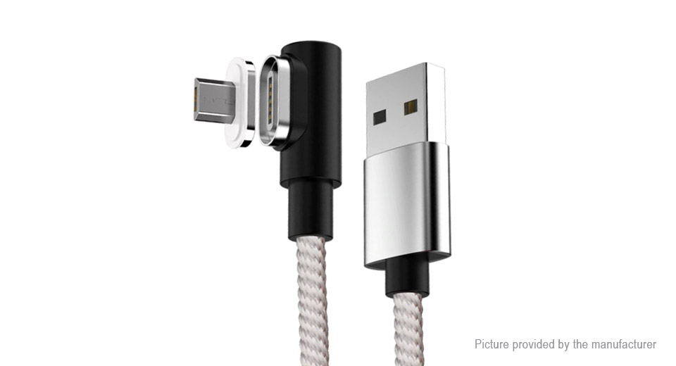 Product Image: micro-usb-to-usb-2-0-braided-magnetic-data