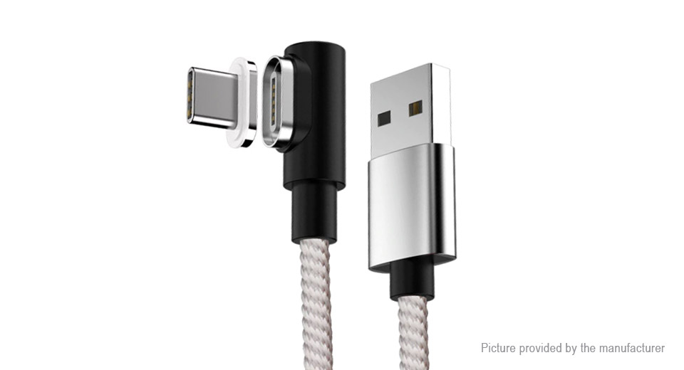 Product Image: usb-c-to-usb-2-0-braided-magnetic-data-charging
