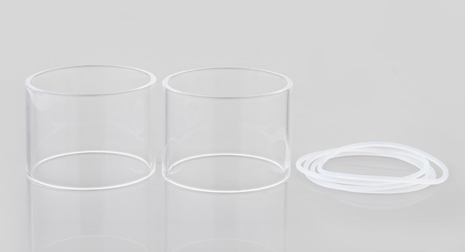 Authentic Steam Crave Aromamizer Titan Replacement Glass Tank (2-Pack)