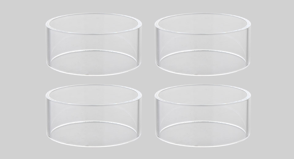 Authentic Steam Crave Aromamizer Titan Replacement Glass Tank (4-Pack)