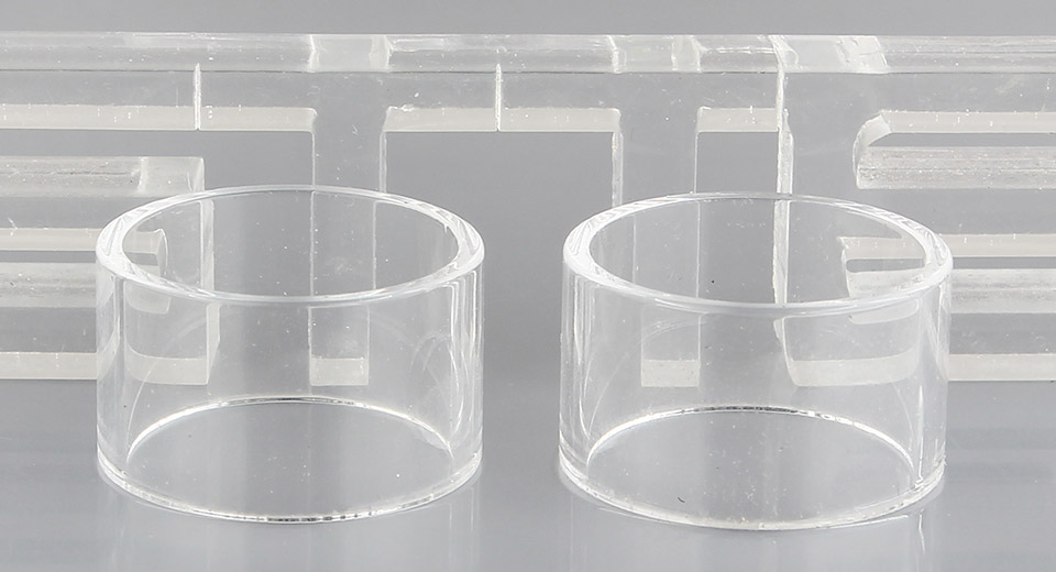 Authentic Steam Crave Aromaizer Lite Replacement Glass Tank (2-Pack)