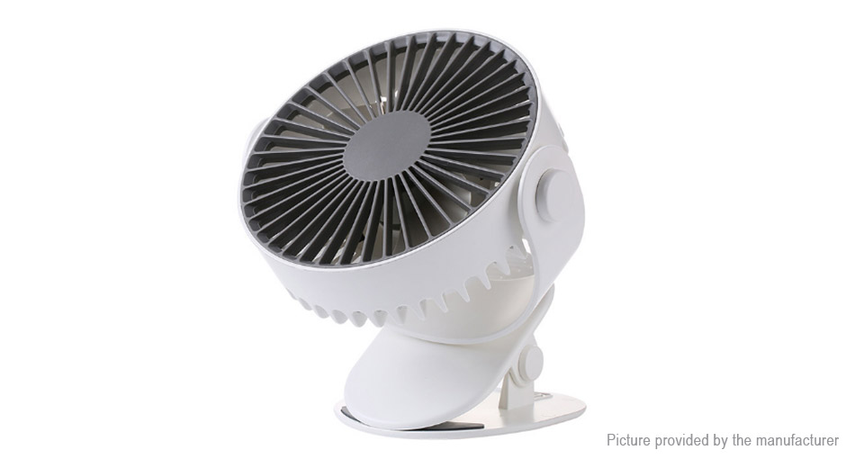Cafele GXZ-F811 Clip-on USB Rechargeable Cooling Fan