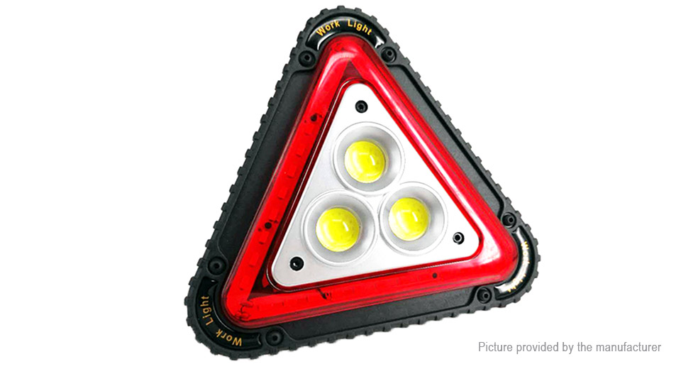 YZ-201 Outdoor Portable Emergency Triangle LED Work Light Camping Lantern