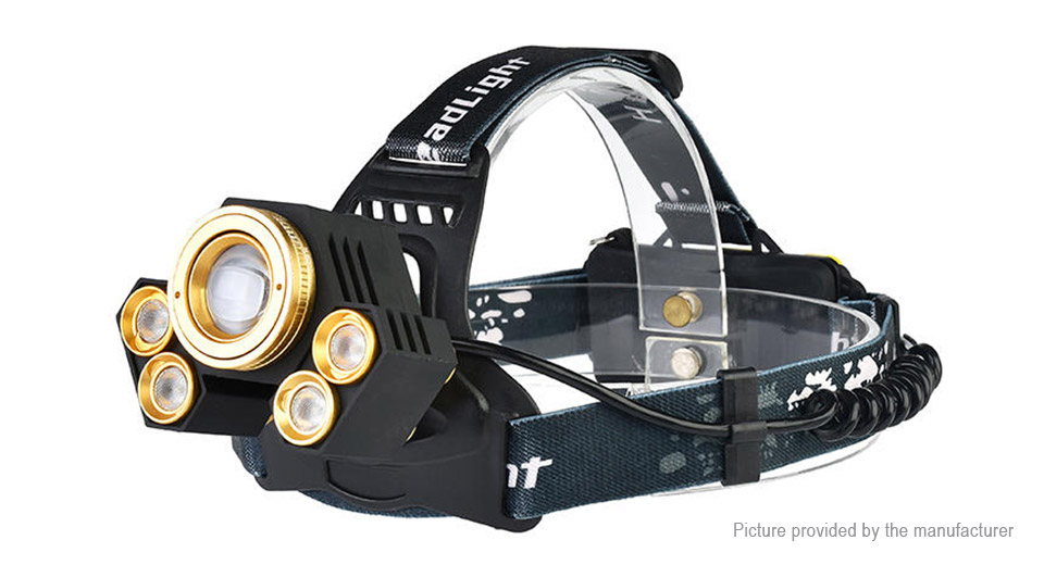 Product Image: yunmai-2408b-led-camping-headlamp-w-focus-zoom