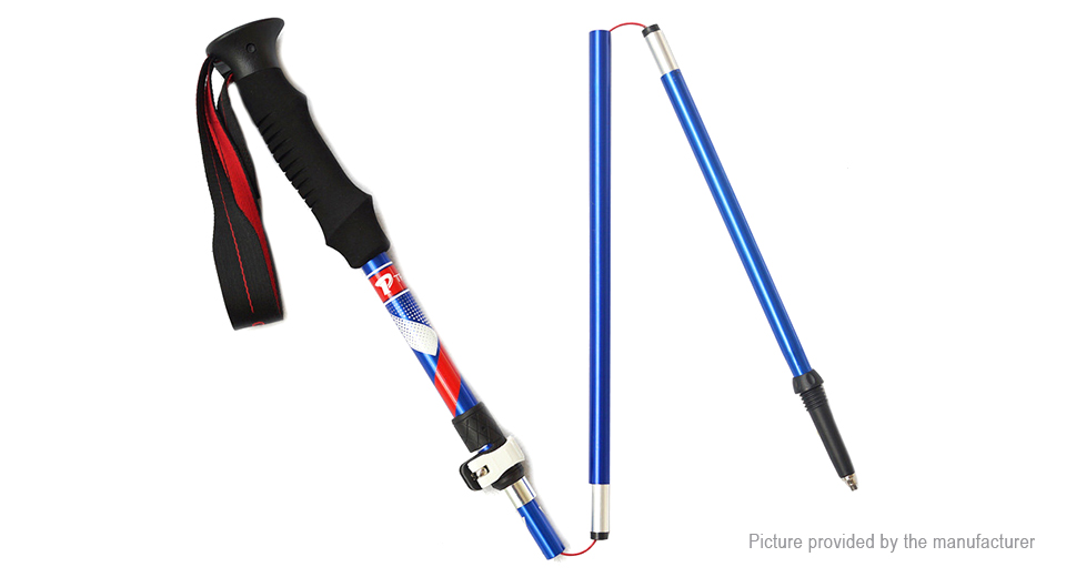 TREKPRO Telescopic Climbing Trekking Pole Walking Stick Alpenstock