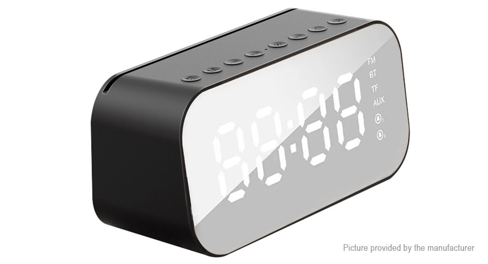 Product Image: authentic-havit-m3-mirror-dual-alarm-clock