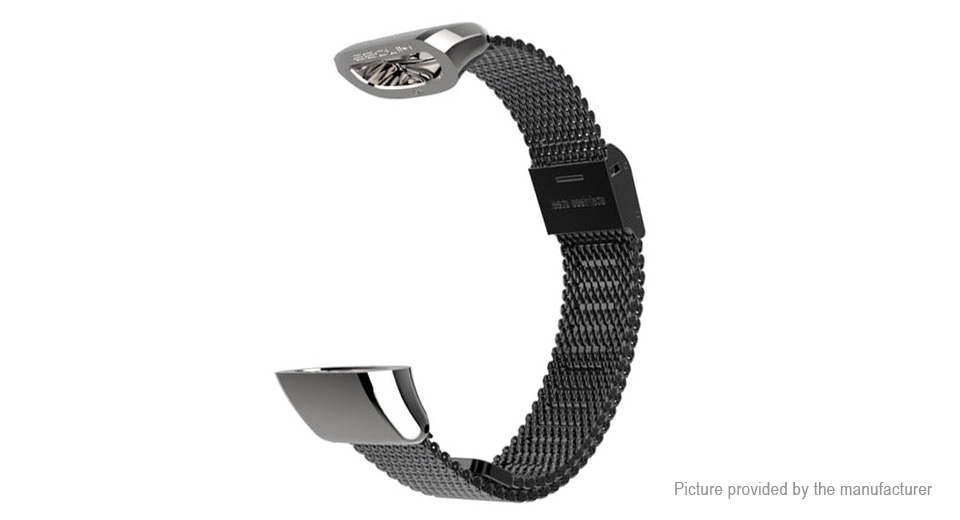 MIJOBS Stainless Steel Wristband Strap for Huawei Band 2 Pro B29 / Band 2 B19