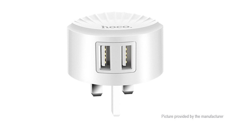 Product Image: authentic-hoco-c67-dual-usb-wall-charger-power